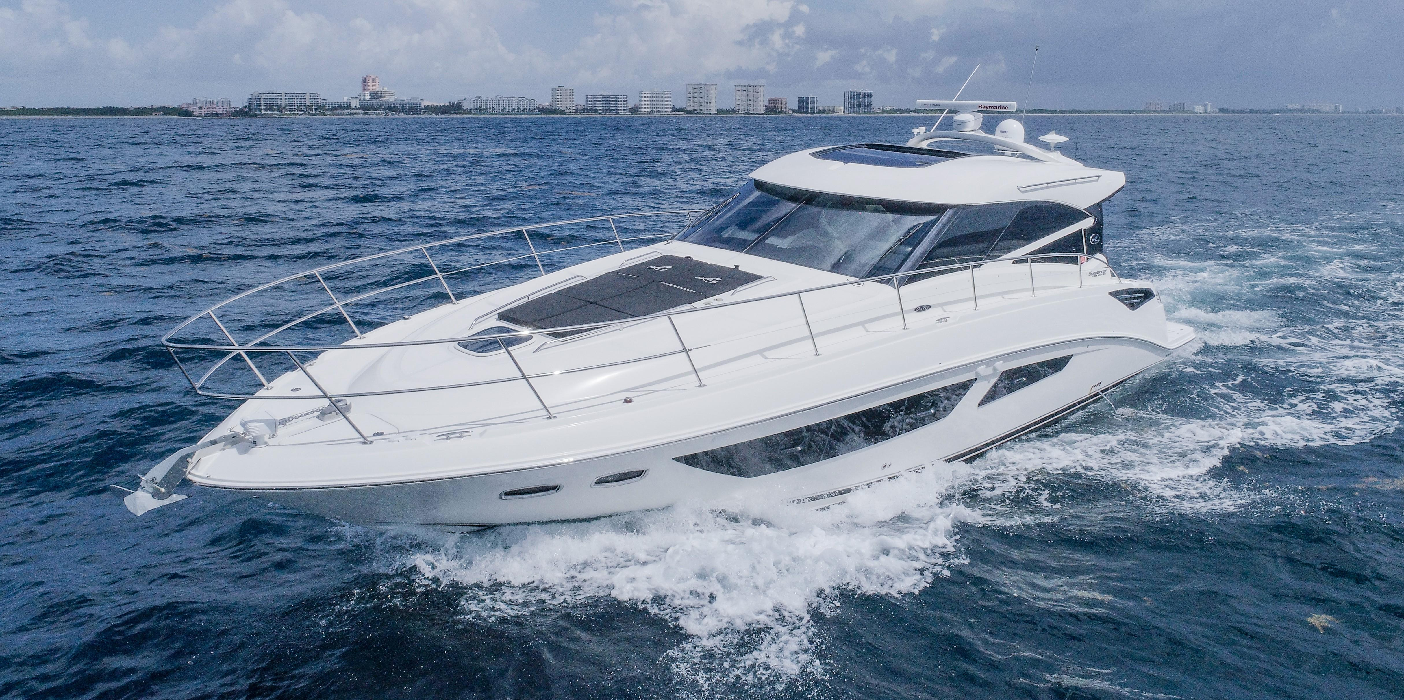 Sea Ray Boats for Sale - New and Used Sport Cruiser Yachts