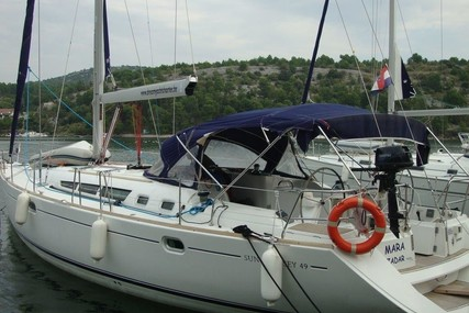 Jeanneau Sun Odyssey 49 for sale in Croatia for €95,000 (£85,216)