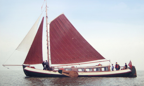 Image of TJALK 17m Dutch Motor Sailing Barge for sale in United Kingdom for £103,000 Brightlingsea, United Kingdom