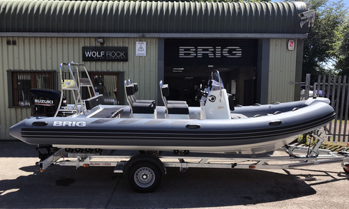 Image of Brig Navigator 610 - NEW 2021 - ORCA Hypalon for sale in United Kingdom for £34,995 South West, United Kingdom
