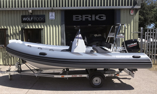 Image of Brig Navigator 485 - NEW 2020 - ORCA Hypalon for sale in United Kingdom for £23,495 ($29,393) South West, United Kingdom