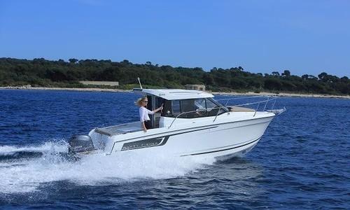 Image of Jeanneau Merry Fisher 695 for sale in Germany for €56,900 (£49,214) Boote Pfister GmbH, Schwebheim/Schweinfurt, Schwebheim, Germany
