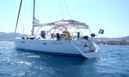 Image of Beneteau Oceanis 473 for sale in Turkey for €105,000 (£92,011) Marmaris, , Turkey