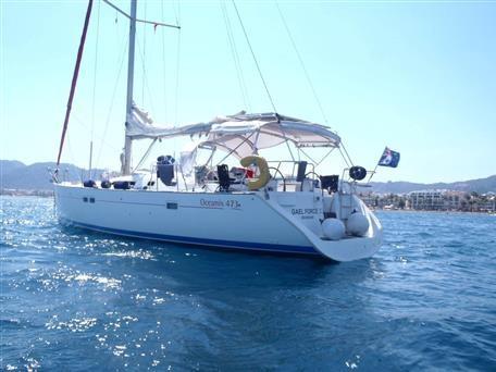 Beneteau Oceanis 473 for sale in Turkey for €105,000