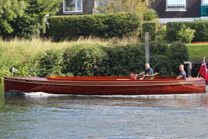 Harts of Surbiton Historic Varnished Mahogany Launch for sale in United Kingdom for £47,500