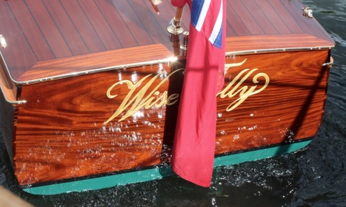 Image of Harts of Surbiton Historic Varnished Mahogany Launch for sale in United Kingdom for £47,500 Henley on Thames, United Kingdom