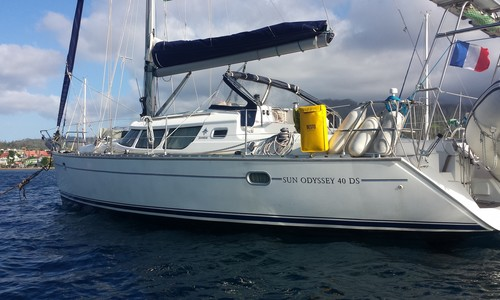 Image of Jeanneau Sun Odyssey 40 DS for sale in France for €89,500 (£80,618) Lorient, , France