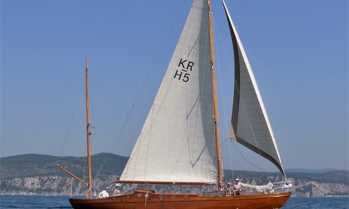 Image of Custom Swedish Bermudan Yawl for sale in United Kingdom for €45,000 (£39,168) Trieste, Italy, United Kingdom