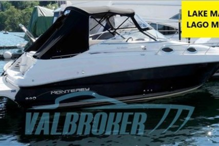 Monterey 262 Cruiser for sale in Italy for €35,000 (£31,666)