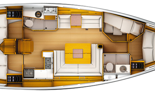 Image of Jeanneau 449 Sun Odyssey for sale in Greece for €182,000 (£156,348) Athens, Greece