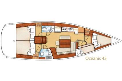Beneteau Oceanis 43 for sale in Greece for €89,000 (£76,165)