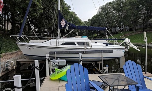 Image of Catalina 22 MkII for sale in United States of America for $15,650 (£12,080) Lake Saint Louis, Missouri, United States of America