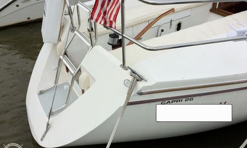 Image of Catalina Capri 26 for sale in United States of America for $16,000 (£11,449) Vermilion, Ohio, United States of America