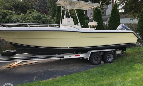 Image of Pursuit 2470 CC for sale in United States of America for $34,900 (£27,008) Hingham, Massachusetts, United States of America
