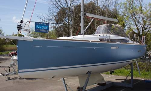 Image of Jeanneau Sun Odyssey 389 for sale in United Kingdom for £157,500 Chichester Marina, United Kingdom