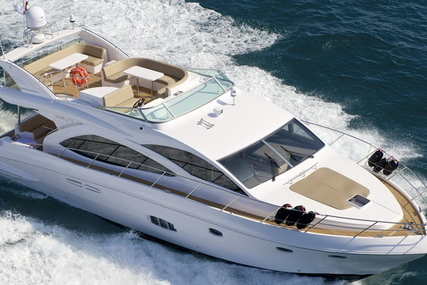 Majesty 56 for sale in United Arab Emirates for €442,000 (£392,380)