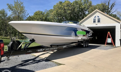 Image of Donzi 45 ZX for sale in United States of America for $161,200 (£124,398) Seneca Falls, New York, United States of America