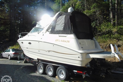 Larson 290 Cabrio for sale in Canada for $55,000 (£32,200)