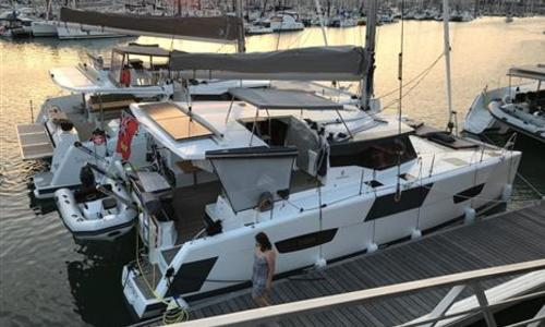 Image of Fountaine Pajot Lucia 40 for sale in Spain for €340,000 (£304,695) Spain