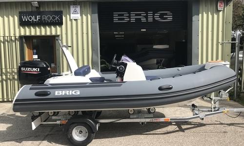 Image of Brig Eagle 4 - NEW 2020 - ORCA Hypalon Fabric Impression for sale in United Kingdom for £18,195 South West, United Kingdom