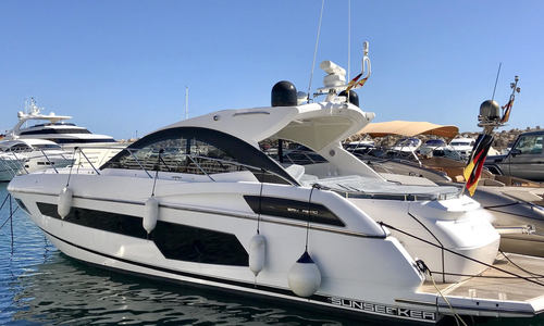 Image of Sunseeker San Remo 485 for sale in Spain for €725,000 (£655,681) Spain