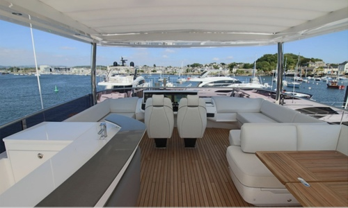 Image of Global Yachts UK Princess 75MY for sale in France for £2,250,000  - South, France
