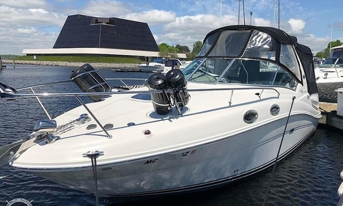 Image of Sea Ray 260 Sundancer for sale in United States of America for $54,500 (£40,707) Muskegon, Michigan, United States of America