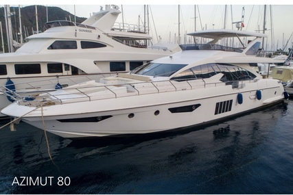 Global Yachts UK Azimut 80 for sale in Turkey for £2,500,000