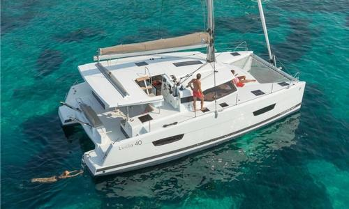 Image of Fountaine Pajot Lucia 40 for sale in Greece for €302,500 (£251,117) Athens, , Greece