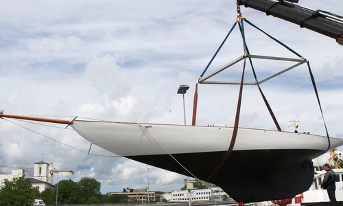 Image of 46ft. GAFF CUTTER 9 Metre R Racing Yacht for sale in  for £75,000 San Remo,