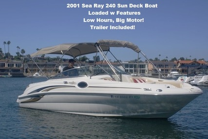 Sea Ray 240 Sun Deck for sale in United States of America for $21,900 (£17,004)