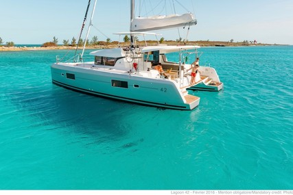 Lagoon 42 for sale in France for €377,217 (£332,259)
