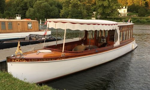 Image of Bates of Chertsey Beaver Stern Launch for sale in United Kingdom for P.O.A. Henley on Thames, United Kingdom