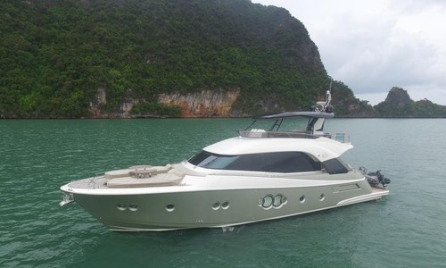 Image of MONTE CARLO YACHTS MCY 70 for sale in Thailand for €1,950,000 (£1,764,626) Phuket, , Thailand