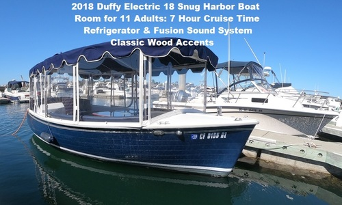 Image of Duffy Electric Boats Snug Harbor for sale in United States of America for $34,900 (£28,438) CA, United States of America