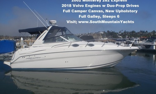 Image of Monterey 282 Cruiser for sale in United States of America for $37,900 (£29,342) United States of America