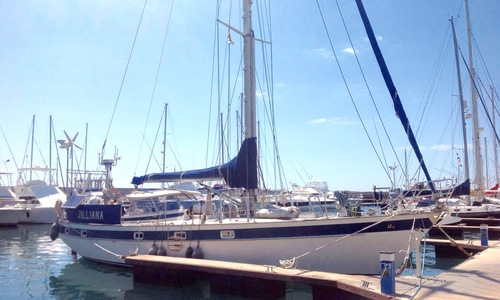 Image of Hallberg-Rassy 42 E for sale in Spain for €95,000 (£80,321) Santa Cruz de Tenerife, Spain