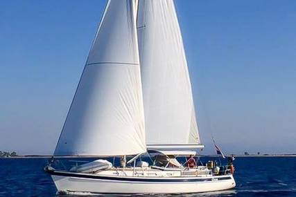 Hallberg-Rassy 43 MK1 for sale in Greece for €295,000 (£264,529)