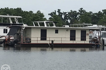 """Custom 55"""" Home Made  Houseboat for sale in United States of America for $78,000 (£60,338)"""