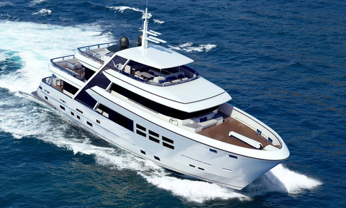 Image of Bandido Yachts Bandido 100 (New) for sale in Germany for €9,300,000 (£8,191,595) Germany