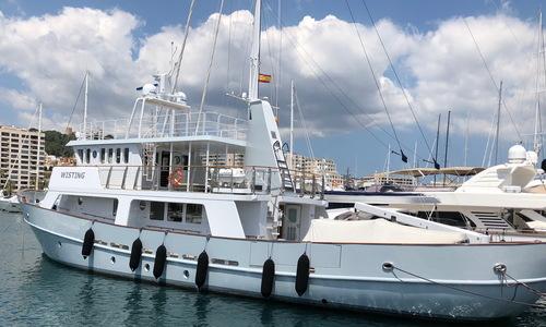 Image of Norwegian Supply Vessel Round Bilge Explorer for sale in Spain for €2,500,000 (£2,149,521) Mediterranean Majorca, Spain