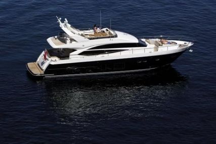 Princess 72 for sale in Spain for €1,549,000 (£1,392,685)