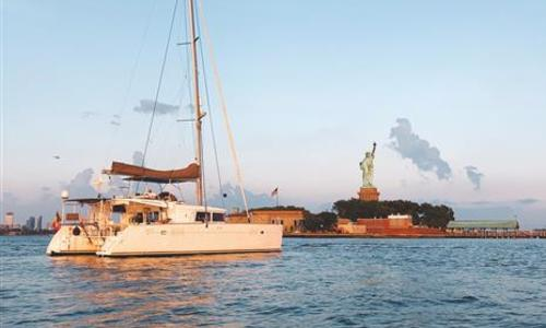 Image of Lagoon 450 for sale in Spain for €445,000 (£406,396) Barcelona, Spain