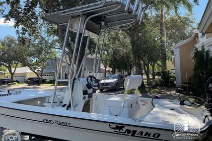 Mako Inshore 16 Pro Skiff for sale in United States of America for $12,500 (£10,119)