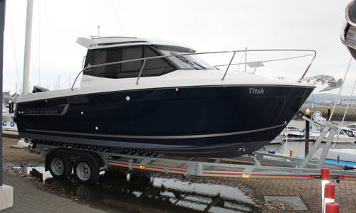 Image of Jeanneau Merry Fisher 695 for sale in United Kingdom for £54,950 Conwy Marina, North Wales, United Kingdom