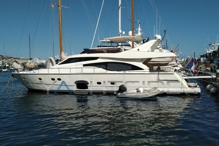 Ferretti 681 for sale in France for €620,000 (£518,876)