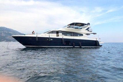 Ferretti 630 for sale in France for €695,000 (£587,162)