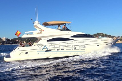 Astondoa 72 GLX for sale in Spain for €550,000 (£489,119)