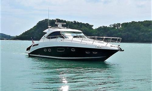 Image of Sea Ray 470 Sundancer (Ex 430) for sale in Malaysia for $340,000 (£263,005) Penang, , Malaysia
