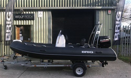 Image of Brig Falcon Rider 420 (2018) for sale in United Kingdom for £14,495 South West, United Kingdom